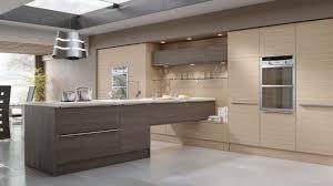 brown modern kitchen modern kitchen in a fashionable woograin effect combining