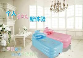 Bathtub Cushion Seat 165x85x45cm Big Inflatable Bathtub Thickening Folding Tub