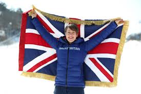 British Flag Ww1 Yarnold Honoured To Be Britain U0027s Flag Bearer For Pyeongchang