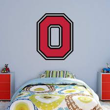 fathead ncaa ohio state buckeyes block o logo wall decal hayneedle
