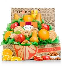 food baskets to send healthy choices fruit gift basket