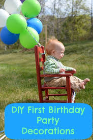 1st birthday themes for boys 5 great diy birthday party decorations