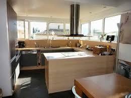 cuisine ouverte sur salon idee deco salon cuisine ouverte jet set