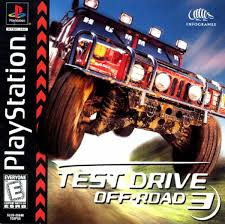 test drive play test drive road 3 sony playstation play retro
