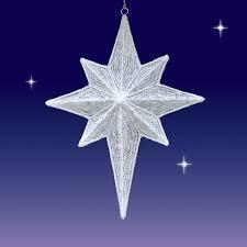 light up star of bethlehem led nativity star 3d white seasons designs 47