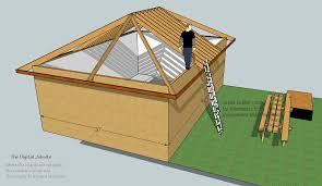 Hip Roof Barn Plans Model U0026 Measure Hip Roof Framing De Mystified By Modeling In