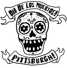 pumpkin stencil skull