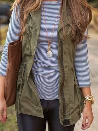 Womens Military Vest The Army Green Jacket For Fall Omg Lifestyle Blog