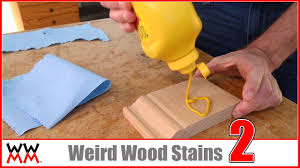 How To Lighten Stained Wood by Kool Aid Mustard And More Weird Wood Stains Sponsored By