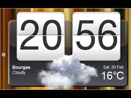 clock and weather widgets for android weather clock widget for all android devices