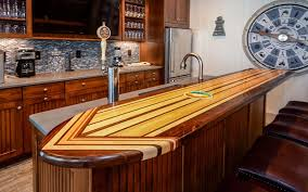 Surfboard Bar Table Best In House Bars On The Obx