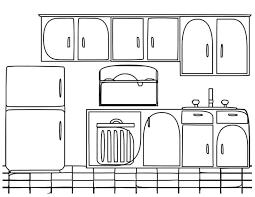 dessiner cuisine dessin de coloriage cuisine à imprimer cp08927