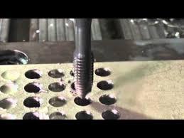Dormer Tap And Die Set Dormer E001 Multi Material Iso Tap Through Hole Threading Youtube