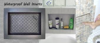home quickshelf recessed shelf for tile