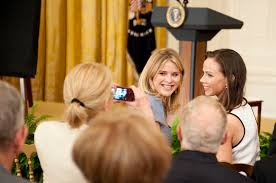 Appreciation Letter Sister sasha and malia obama letter from barbara and jenna bush time com