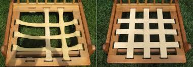 Rubber Upholstery Webbing Danish Modern Chair Restoration