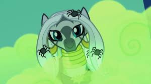 halloween background ponies image zecora with spiders in her hair s2e04 png my little pony