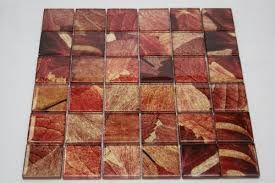 Red Tile Backsplash - red tile backsplash amazon com