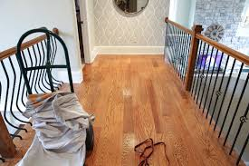 Refinished Hardwood Floors Before And After How We Refinished Our Hardwood Floors Bower Power