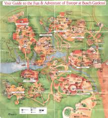 Williamsburg Virginia Map by Park Map Busch Gardens The Old Country 1991 The Dod3