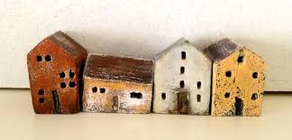 miniature ceramic houses vesna gusman my work