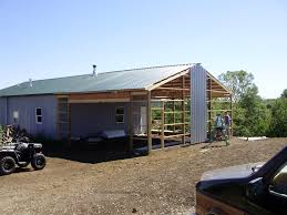 How To Build A Pole Barn Shed by Pole Barn House Milligan U0027s Gander Hill Farm