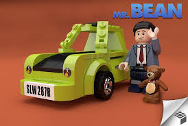 lego ford set a man designed a mr bean lego play set complete with famous green