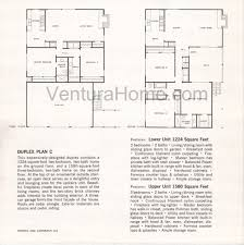 duplex floor plan ventura keys floor plans