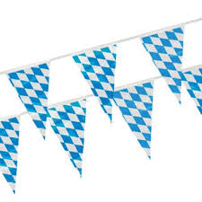 papiertischdecke rolle tischdecke folie 20m x 1m oktoberfest party deko weiss blau