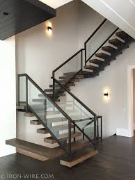 Indoor Banisters Decor Winsome Contemporary Stair Railing With Brilliant Plan For