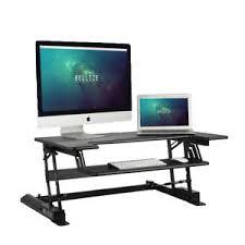 Computer Stand For Desk Sit Stand Desk Ebay