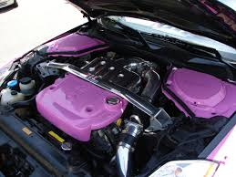 nissan 350z lower engine cover file 350z very pink engine jpg wikimedia commons