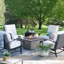Patio Furniture Cyber Monday Fire Pit Patio Sets Hayneedle