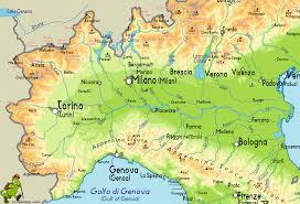 Map Of Central Italy by Italy
