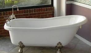 Clawed Bathtub Cast Iron Clawfoot Bathtub U2014 Kitchen U0026 Bath Ideas How To Choose