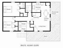 simple single floor house plans 58 lovely bungalow single story house plans house floor plans