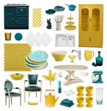 teal kitchen ideas yellow and teal kitchen 5390
