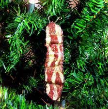 glitter bacon ornaments gold sparkle funky unique set of