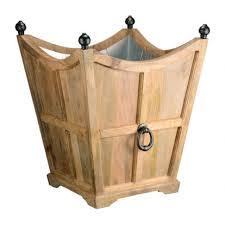 wooden planters wooden planter boxes u0026 wood pots