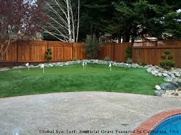 Putting Green In Backyard by Artificial Turf Cost Owasso Oklahoma Putting Green Grass Small