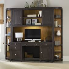 hooker furniture south park executive computer desk with optional