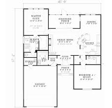 2 bedroom home floor plans traditional style house plans 1426 square home 1 2