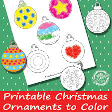 printable ornaments free printable