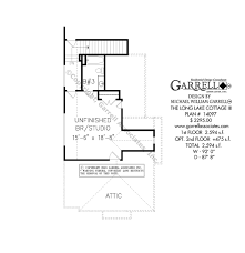 long lake cottage iii house plans by garrell associates inc long lake cottage house plan 14097 2nd floor plan