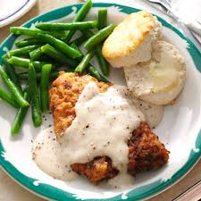 chicken fried steak u0026 gravy recipe taste of home