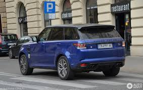 land rover range land rover range rover sport svr 26 october 2017 autogespot