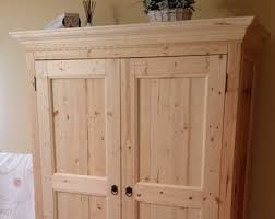 Shaker Style Armoire Dressers U0026 Armoires Etsy
