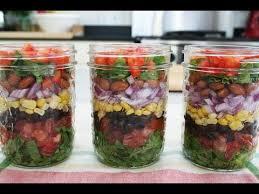 Salad With Edible Flowers - southwestern layered salad u0026 edible flowers youtube