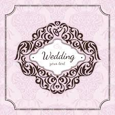 wedding backdrop vector free vintage floral frame for wedding invitation royalty free vector clip
