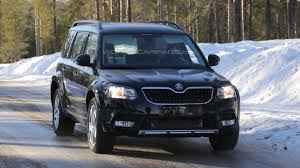 vw snowman possible skoda snowman chassis testing mule spied for the first time